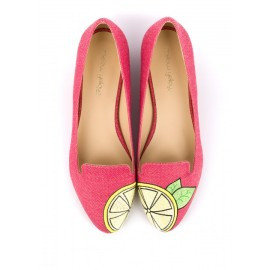 Ballerine BECCO Rose, Mellow Yellow, 119 euros