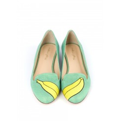 Ballerine BECCY Vert, Mellow Yellow, 119 euros
