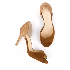 Escarpin BETTINA Camel, Mellow Yellow, 139 euros