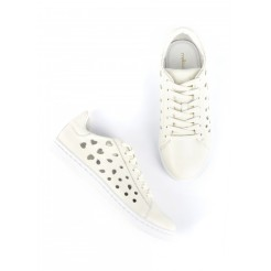 Sneaker BICOEUR Blanc, Mellow Yellow, 99 euros