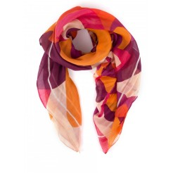 Foulard BUBBLY Orange, Mellow Yellow, 45 euros