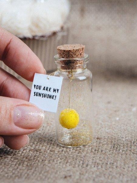 Mini-bouteille et message, KseniyaRevta, 5,74 euros