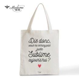 Tote bag Sublime, Madame Tse Tse, 15 euros