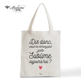 Tote bag Sublime, Madame Tse Tse, 15 euros
