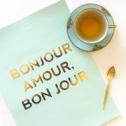 Affiche Bonjour Amour, sarahandbendrix, 28,74 euros