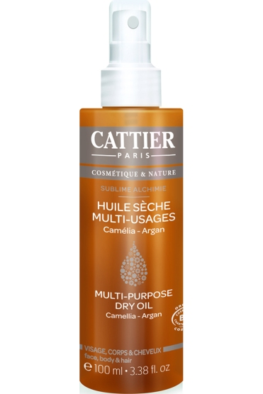 Huile Sèche Multi-Usage – Sublime Alchimie, Cattier, 15,40 euros