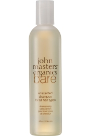Bare – Unscented Shampoo – All Hair Types, John Masters Organics, 18,50 euros