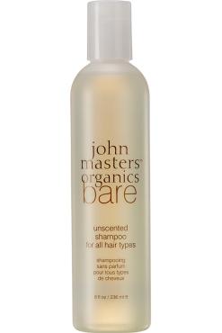 Bare – Unscented Shampoo – All Hair Types, John Masters Organics, 18,50 euros