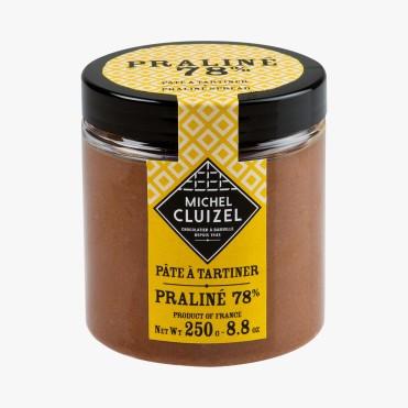Pâte à tartiner Praliné 78%, 9,45 euros, Michel Cluizel