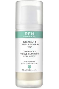 ClearCalm 3 – Masque Clarifiant Peau Nette, Ren, 37 euros