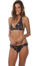 Bikini Woodrose Noir, Banana Moon Couture, haut 58 € et bas 46 €