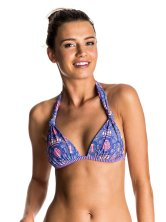 Haut de bikini triangle années 70 Mix Caleo, Roxy, 40 €