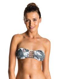 Haut de bikini bandeau réversible Strappy Love, Roxy, 40 €