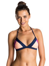 Haut de bikini triangle fixe Summer Cocktail, Roxy, 35,99 €