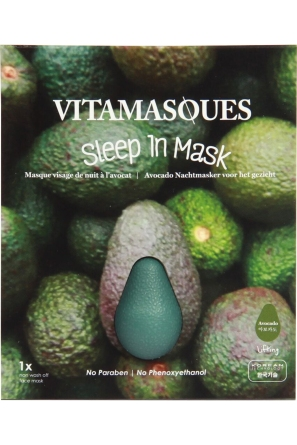 Sleep in 3d Mask Avocado, Vitamasques, Birchbox, 5 euros