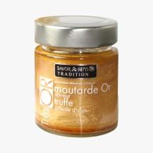 Moutarde or saveur truffe blanche, Savor & Sens, Gde Epicerie, 5 euros
