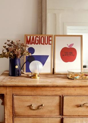 Affiche - Sézane x Hôtel Magique, 55 euros